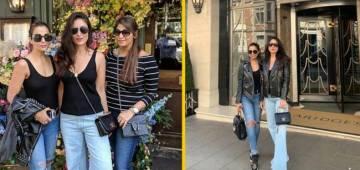 BFF Kareena Kapoor Khan And Amrita Arora Khan Are Enjoying In The Streets Of London