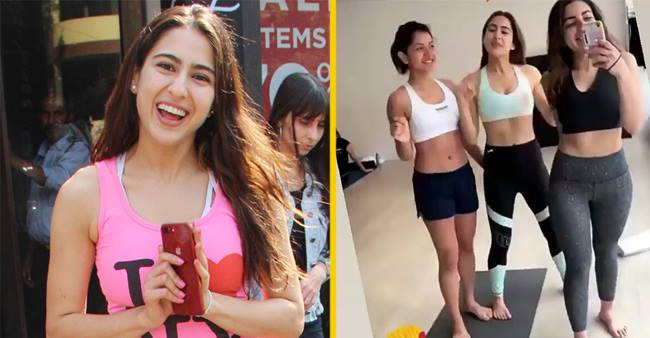 Sara Ali Khan is really giving us fitness goals with her fitness awareness!! Check pics here