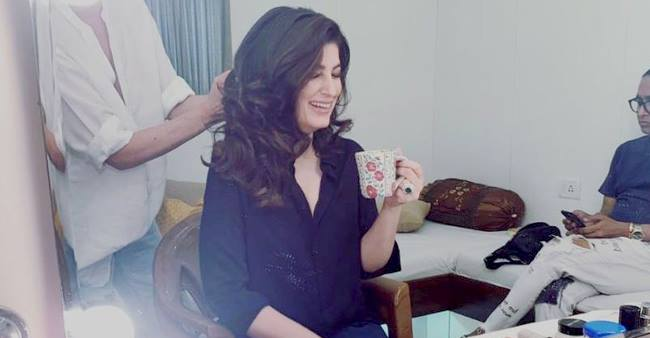 Twinkle Khanna Shares LOL Moment Of Discovering Herself 'On A Set 2 Decades Later'