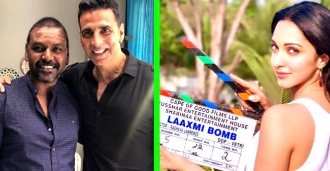 Akshay Kumar and Kiara Advani began shooting of Kanchana's Hindi remake Laaxmi Bomb