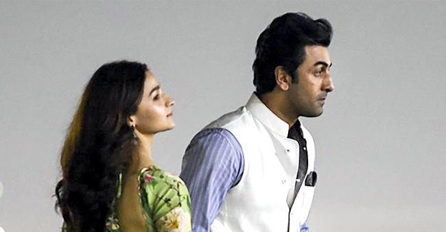 Alia tells the media how the 'Brahmastra' movie made her chemistry stronger with Ranbir Kapoor