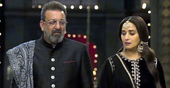 Kalank: Sanjay Dutt: Great to work with Madhuri again. I was nervous, but she made things easy