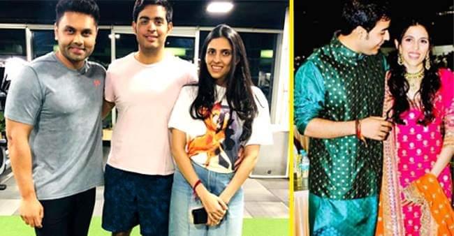 Akash Ambani and Shloka Mehta are true gym enthusiasts!! Check pics to know more
