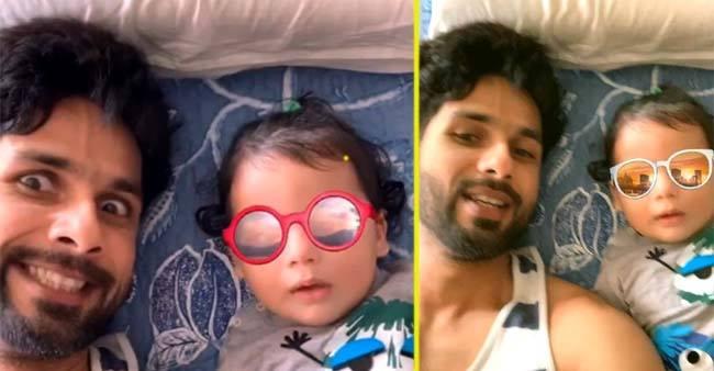 Shahid Kapoor Posts a Video Of Son Zain Kapoor With Caption 'Shady Boys'