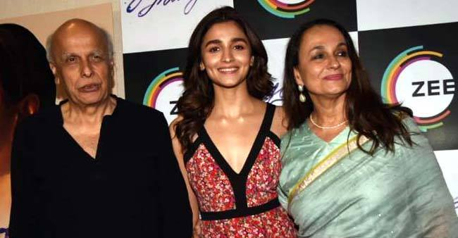 Alia Bhatt flies for London to shoot for brahmastra soon after attending a screening of her parent's upcoming movie