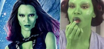 Memers create hilarious memes of green skinned Gamora from Avengers: Endgame