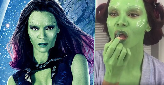 Memers create hilarious memes of green skinned Gamora from Avengers: Endgame