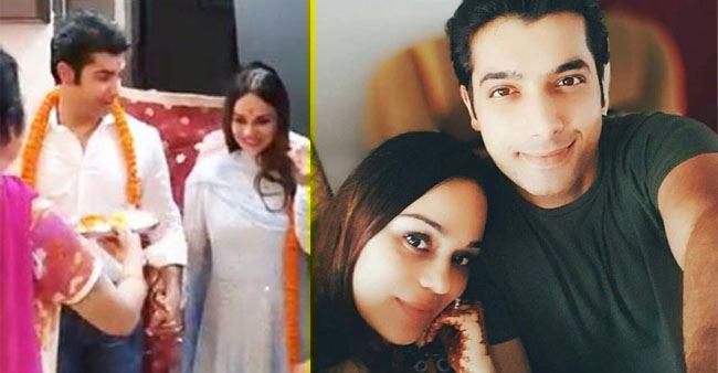 Sharad Malhotra called it a 'Kyuki Saas Bhi Kabhi Bahu Thi' moment when he with his wife shifted to their new home.