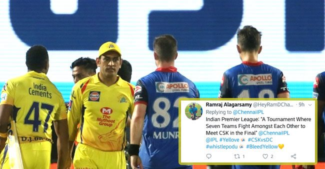 """""""Dhoni Hai Toh Mumkin Hai"""" : Twitter reacts as CSK march into IPL final for 8th time"""