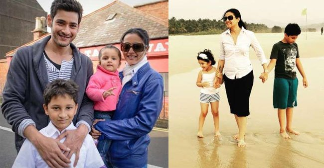Namrata Shirodkar's Random Pictures with Her Hubby and Kids Give Us Cute Family Goals