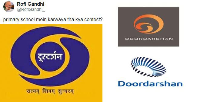 People Are Not Happy With Doordarshan's New Logo Options And Call The Old Ones Better