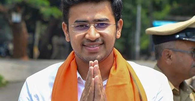 Elections 2019: Tejasvi Surya raised funds for Kargil victims at the age of 8; now he's BJP's youngest MP