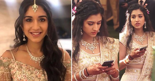 Ambani Daughter Isha Piramal and Daughter in Law, Radhika Merchant shows special bonding over a Diamond necklace