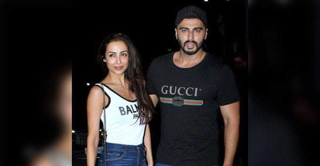 Arjun Kapoor breaks up the silence by saying We're not doing anything wrong.