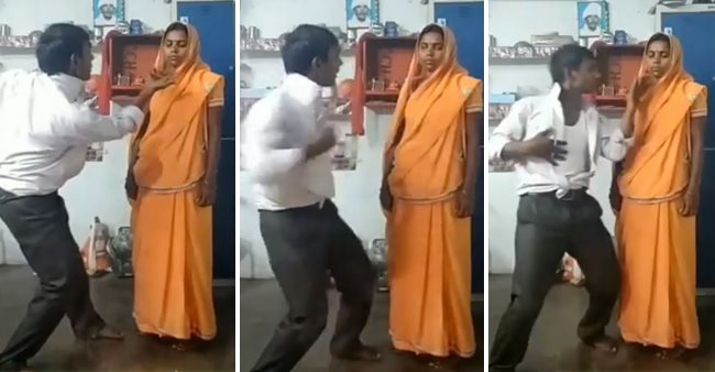 TikTok Video: Couple Dancing to Shah Rukh-Kajol Hit Song 'Baazigar Makes you ROFL
