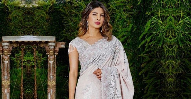 International Magazine Features Priyanka Chopra In Gorgeous Saree