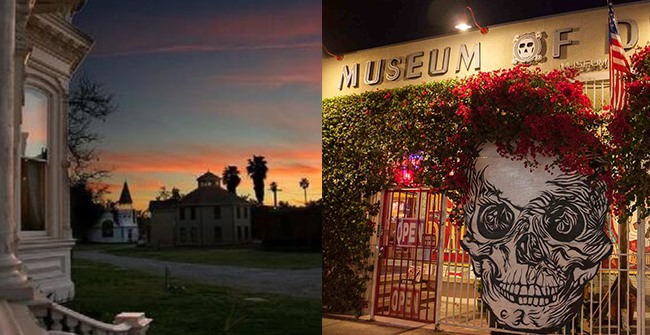 Check out top notch tourist attractions and quirky repositories in Los Angeles