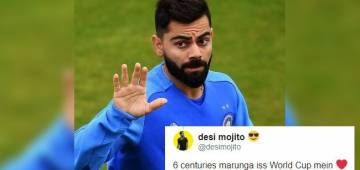 Skipper Virat asks cricket buffs to give caption to his picture and Twitter turns crazy