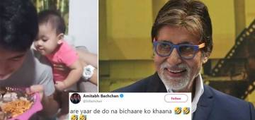 Amitabh Bachchan's Witty Tweet on Cute Baby's Hilarious Video