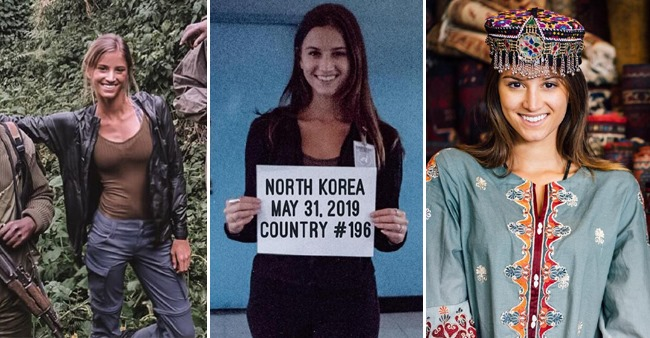 Lexie Alford Becomes The Youngest To Travel 196 Countries, See Pictures  From Her Travel Diary
