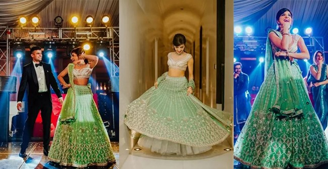 Private Ceremony Reception Later: Private Engagement Ceremony In Delhi: Bride Looks Ethereal