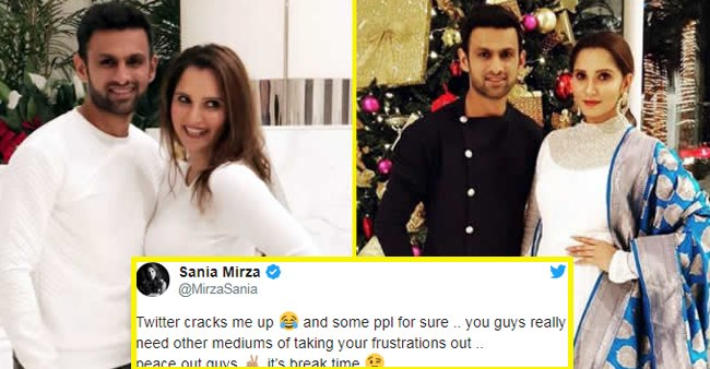 It's A Break Time For Sania Mirza From Twitter After