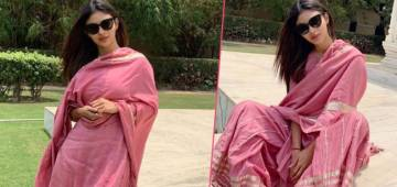 Mouni Roy is taking internet by storm with her ravishing new pictures in palazzo suit