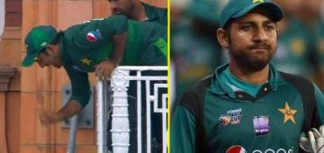 Pakistan skipper Sarfaraz Ahmed's picture from the Lord's balcony has turned into a hilarious meme