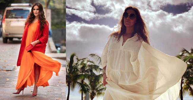 Neha Dhupia's post pregnancy look and style is a special inspiration for every new mom