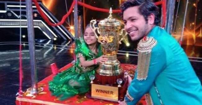 Super Dancer Chapter-3' : Rupsa, a 6-year-old girl from