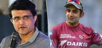 Gautam Gambhir showing frustration, Sourav Ganguly giving solution for the rain washouts during World Cup