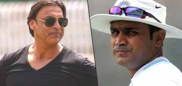 Shoaib & Sehwag once again came face-to-face, but this time not on the pitch but on the Youtube