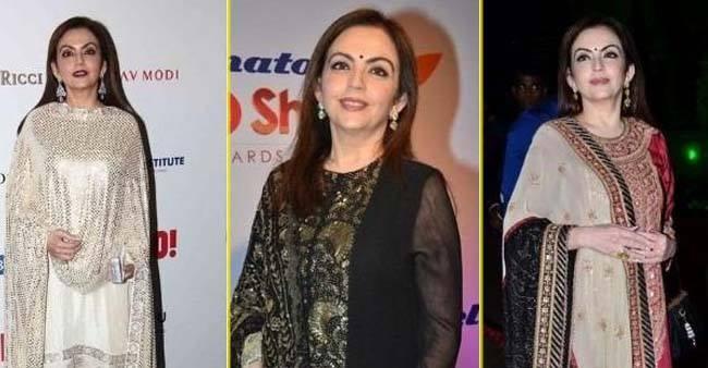 Gorgeous Kurtas of Nita Ambani Adds Elegance to Every Woman
