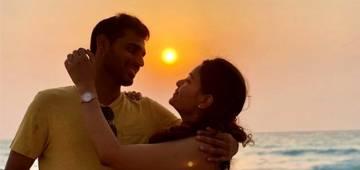 Shikhar on Bhuvneshwar Kumar romantic photo with wife Nupur: Haye Mera Aashiq