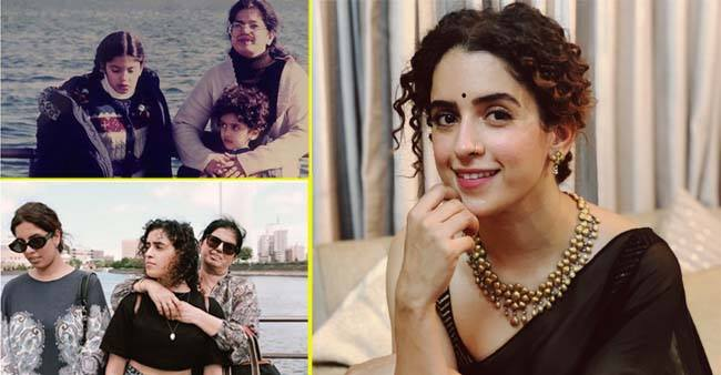 Sanya Malhotra turns nostalgic after visiting her Tokyo home; shares pics with mom and sissy