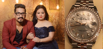 Bharti's hubby surprises her with an amazing birthday gift; Rakhi Sawant says 'wah pati ho to esaa'