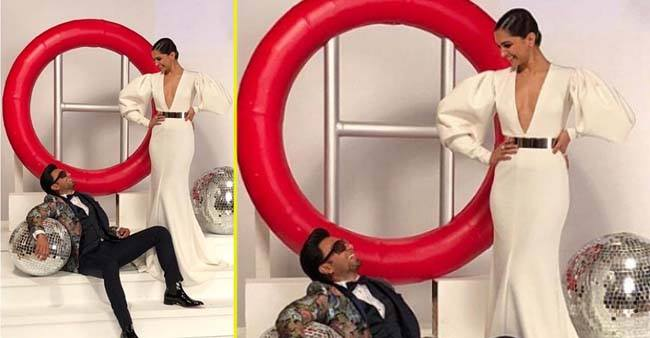 Deepika and Ranveer look perfect and most stylish in this throwback image