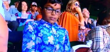 Indian kid pays a whopping price to buy ticket for Federer Vs Nadal game just to read a book
