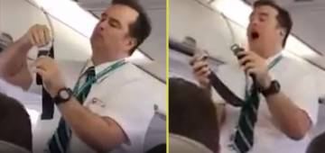 AMAZING: Passengers loved this cabin crew's unique way of explaining instructions