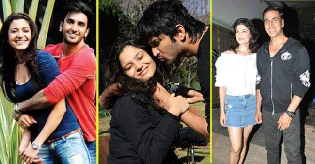 Bollywood actors and their famous breakups, post becoming successful in the industry.