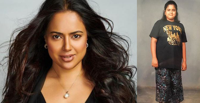 Sameera Reddy shares throwback image to inspire females to have a confident body image