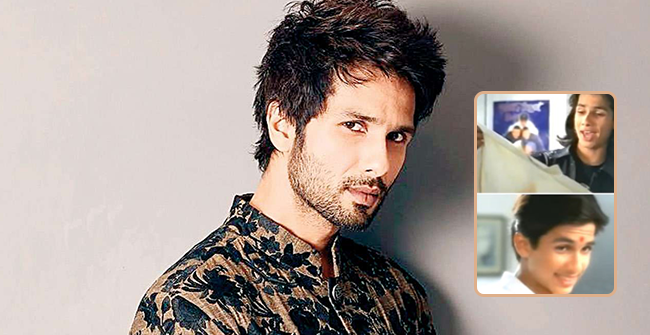Shahid Kapoor looks cute yet unrecognizable in an old Ad