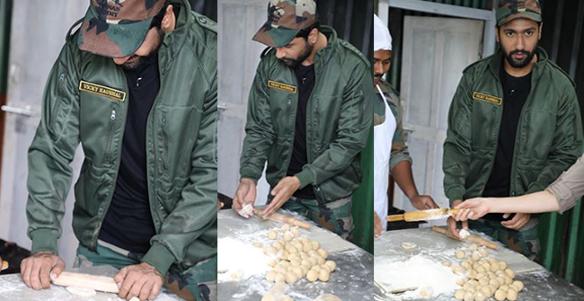 Vicky Kaushal Cooked For Indian Army Says, Glad It Was For The Army