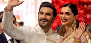 Ranveer Singh again comments on Deepika's Instagram post
