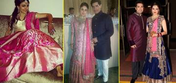 Take inspiration from Bollywood divas, they were looking like a queen on their reception day