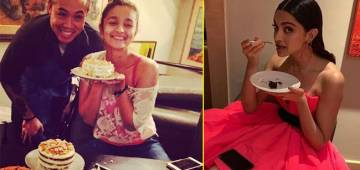 Few Mouth-Watering Pictures of B-Town Actresses Having their Favorite Desserts