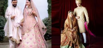 Bollywood Brides That Dressed Like megabuck On Their Wedding Reception