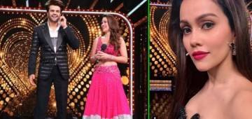Waluscha De Sousa on hosting Nach Baliye with Maniesh Paul: he is so helpful, and gives space to learn
