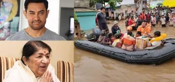 Lata Mangeshkar, Aamir Khan, Big B donate for Maharashtra relief fund; CM Fadnavis thanks Bollywood fraternity