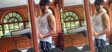 Kartik Aartyan's picture at the gym leaves his fans stunned